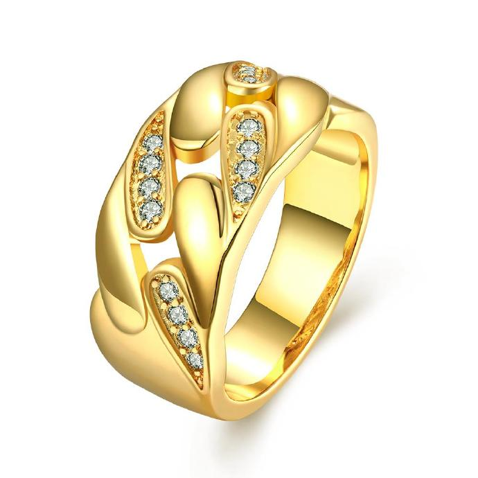 Jenny Jewelry R200-A-8 High Quality New Fashion Jewelry White Plated zircon Ring ,Available Size 7,8