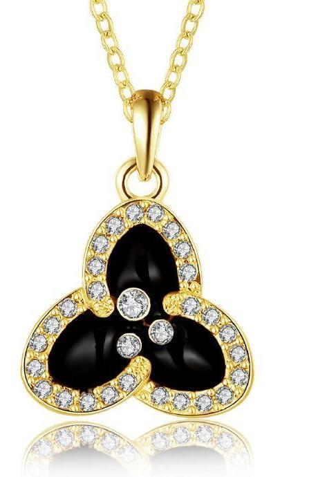 Jenny Jewelry N877-A 18K Real Gold Plated Necklace pendants New Fashion Jewelry