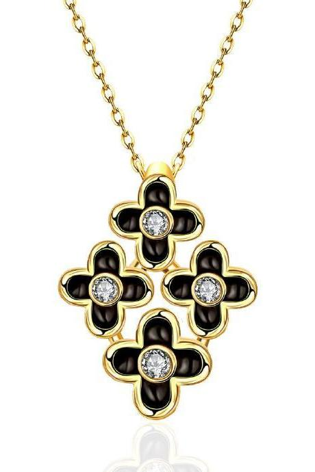 Jenny Jewelry N880-A 18K Real Gold Plated Necklace pendants New Fashion Jewelry