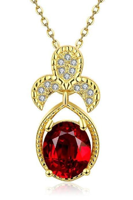 Jenny Jewelry N887-A 18K Real Gold Plated Necklace pendants New Fashion Jewelry