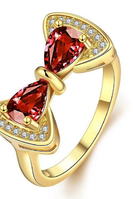 Jenny Jewelry R410-A-8 High Quality New Fashion Jewelry White Plated zircon Ring