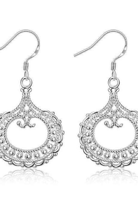 Jenny Jewelry E004 New Fashion New Style Jewelry Silver Plated Earring