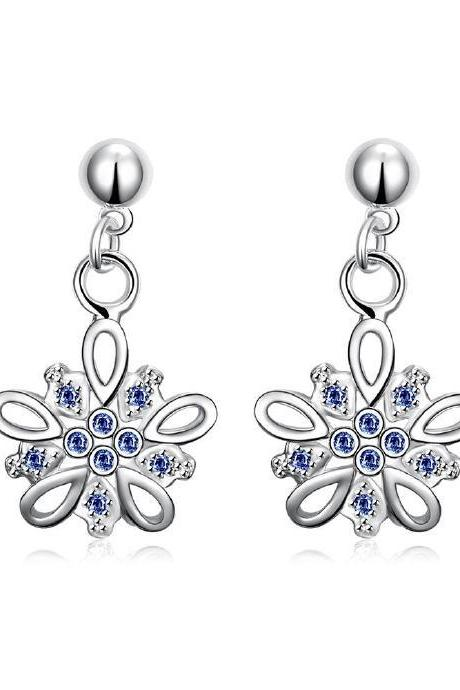 Jenny Jewelry E015-C New Fashion New Style Jewelry Silver Plated Earring