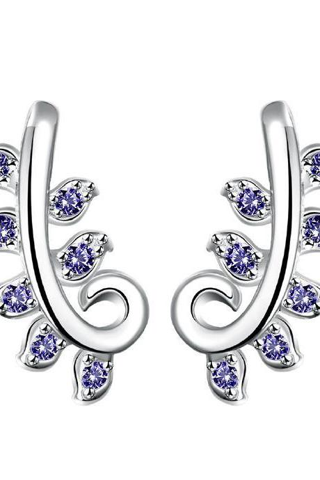 Jenny Jewelry E022-A New Fashion New Style Jewelry Silver Plated Earring
