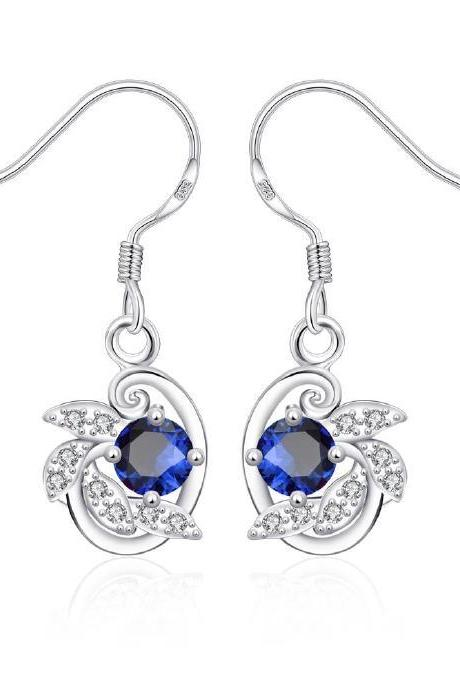 Jenny Jewelry E044-A New Fashion New Style Jewelry Silver Plated Earring