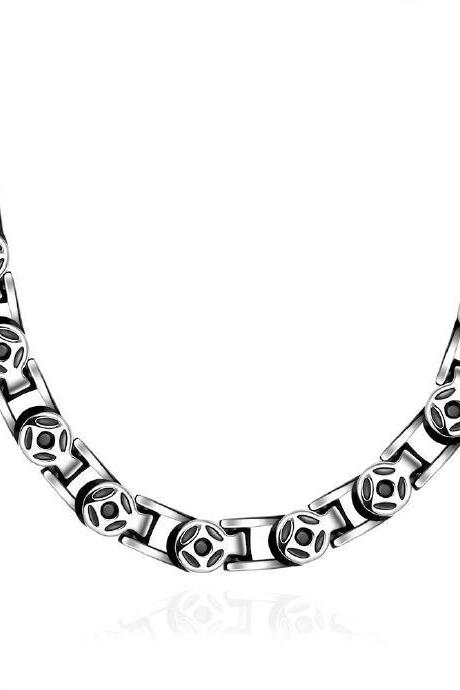 Jenny Jewelry N060 latest design 316L stainless steel fashion Necklace