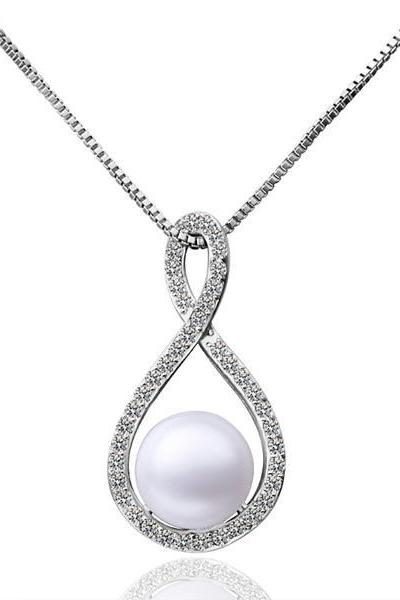 Jenny Jewelry P020 Beautiful pearl pendants