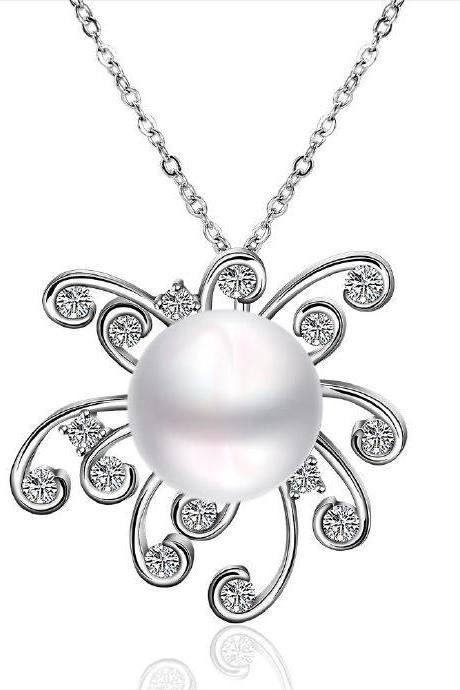 Jenny Jewelry P053 Beautiful pearl pendants