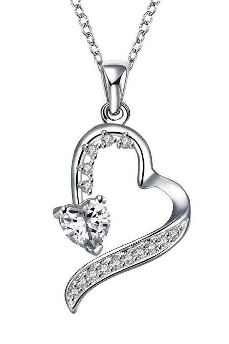 Jenny Jewelry N015 Silver plated necklace brand new design pendant necklaces jewelry for women