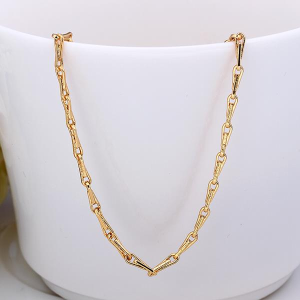 Jenny Jewelry C014 18K gold plated long chain