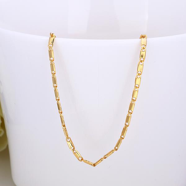 Jenny Jewelry C015 18K gold plated long chain